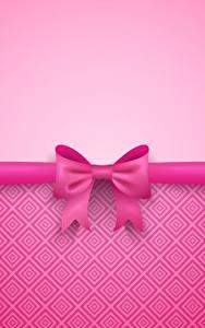 Картинки Бантик Розовый