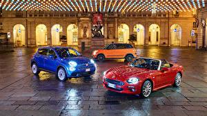 Картинка Fiat Трое 3 Кабриолет Автомобили