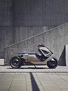 Фотографии БМВ Сбоку 2017 Motorrad Concept мотоцикл