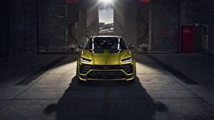 Картинка Lamborghini Спереди Urus Novitec авто