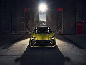 Картинка Lamborghini Спереди Urus Novitec