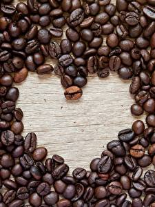 Картинки Кофе Зерна Сердце