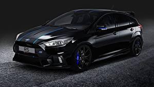 Обои для рабочего стола Форд Черных Focus RS, Performance Parts авто