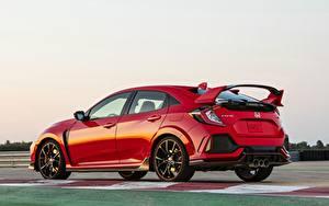Картинка Honda Красный Металлик 2019, Civic Type R, 5th gen, FK8 авто