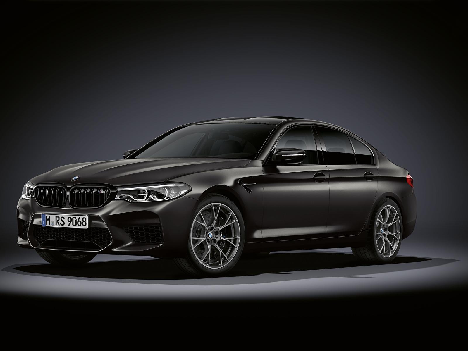 Фотография БМВ M5, F90, 2019, Edition 35 Years черная Автомобили 1600x1200 BMW Черный черные черных авто машины машина автомобиль