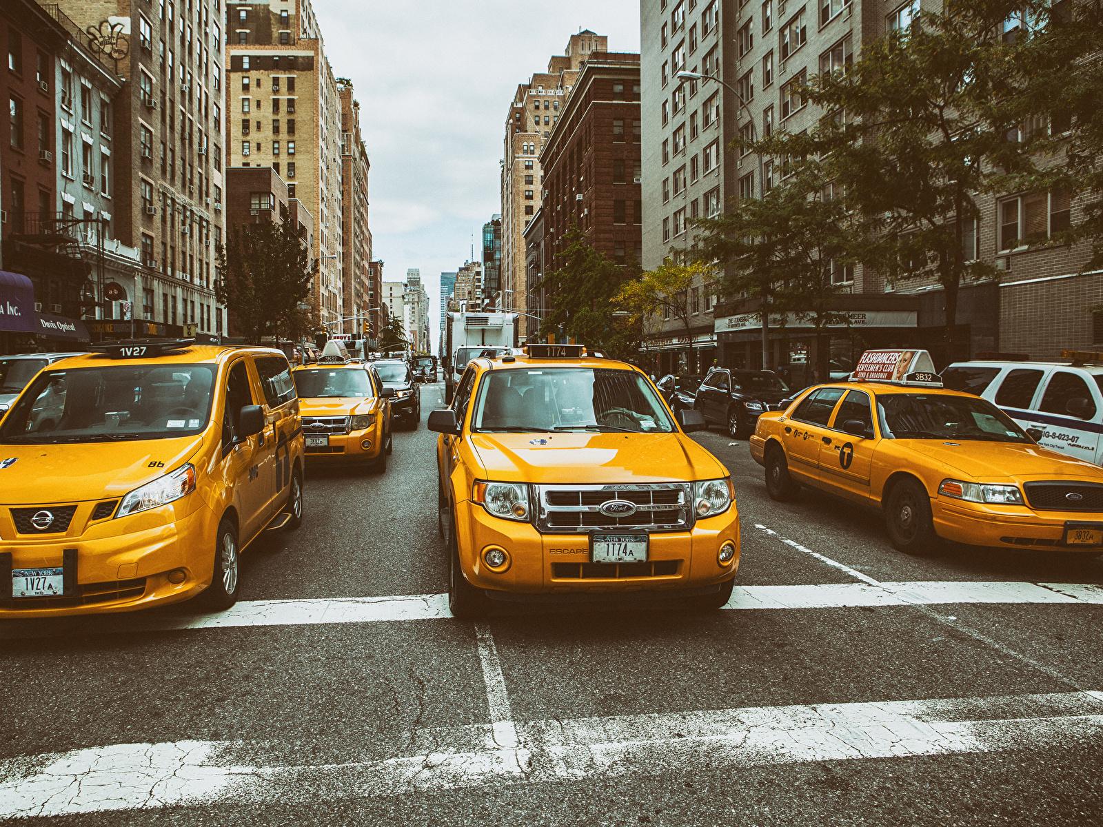 Обои new york city, машины, америка, улица, сша. Города foto 13