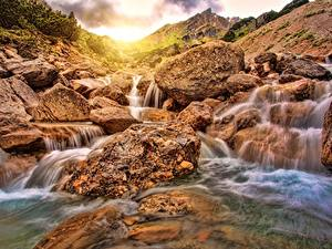 Фотографии Речка Камень Водопады
