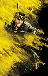 Фото Тор: Рагнарёк Tom Hiddleston Мужчины Нож Фильмы Знаменитости