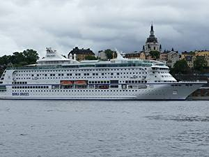 Фотографии Стокгольм Швеция Круизный лайнер Birka Cruises город