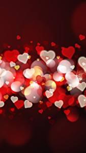 Картинки День святого Валентина Много Сердце