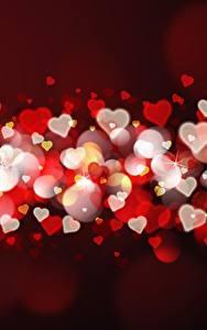 Картинки День святого Валентина Много Серце