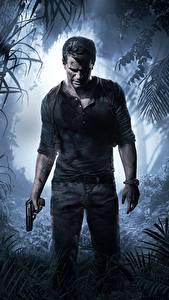 Фотография Uncharted 4: A Thief's End Мужчины Пистолеты Игры