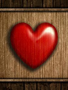Фотографии День всех влюблённых Вблизи Доски Сердце Красных