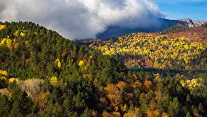 Фотография Осенние Леса Горы