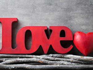 Картинки День святого Валентина Английская Серце