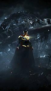Обои Герои комиксов Супермен герой Несправедливость 2 Ночные Игры