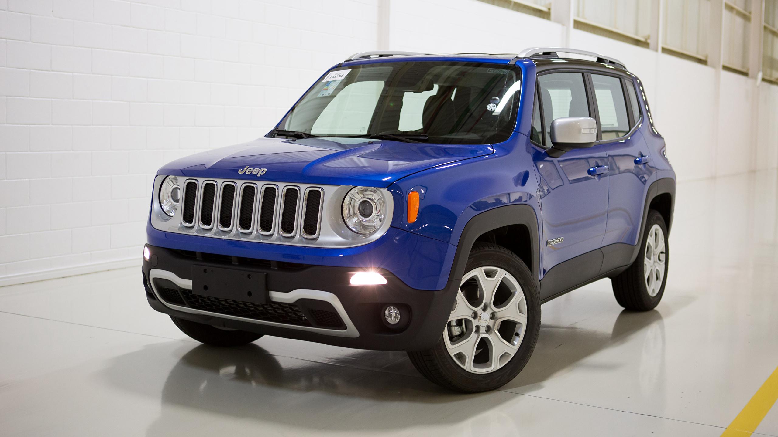 джип синий автомобиль jeep renegade загрузить