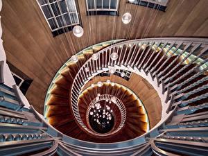 Обои Лестницы Сверху Красивые