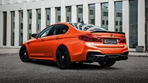 Картинки BMW Стайлинг Металлик Сзади M5, G-Power, F90, G5M Hurricane RS машина