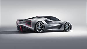 Обои для рабочего стола Lotus Серебристая Сбоку Evija Автомобили