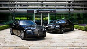 Фото Rolls-Royce Черных Металлик Вдвоем машина