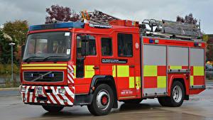 Картинка Вольво Пожарный автомобиль 2005 Retained Water Ladder