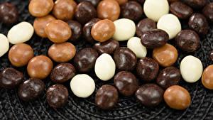 Фото Сладости Конфеты Шоколад Много chocolate dragee Продукты питания