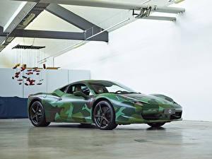 Обои Феррари Стайлинг 2012 458 Italia Tailor Made  Army Pininfarina