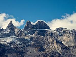 Фотографии Горы Австрия Альпы