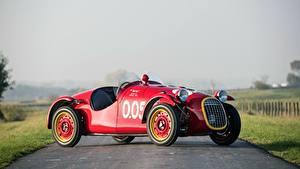 Картинки Дороги Красный Giannini, 750 Sport, 1950 Автомобили