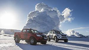 Картинки Тойота 2 Arctic Trucks Land Cruiser Prado AT38, Arctic Trucks Hilux Double Cab AT38 Авто
