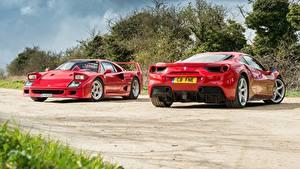 Фотография Ferrari Красный 2 F40 GTB 488 Авто