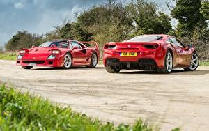 Фотография Ferrari Красный 2 F40 GTB 488