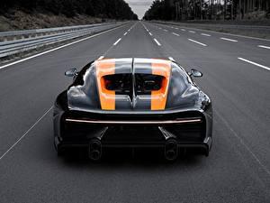 Фотография Дороги BUGATTI Вид сзади Chiron Super Sport 300 автомобиль
