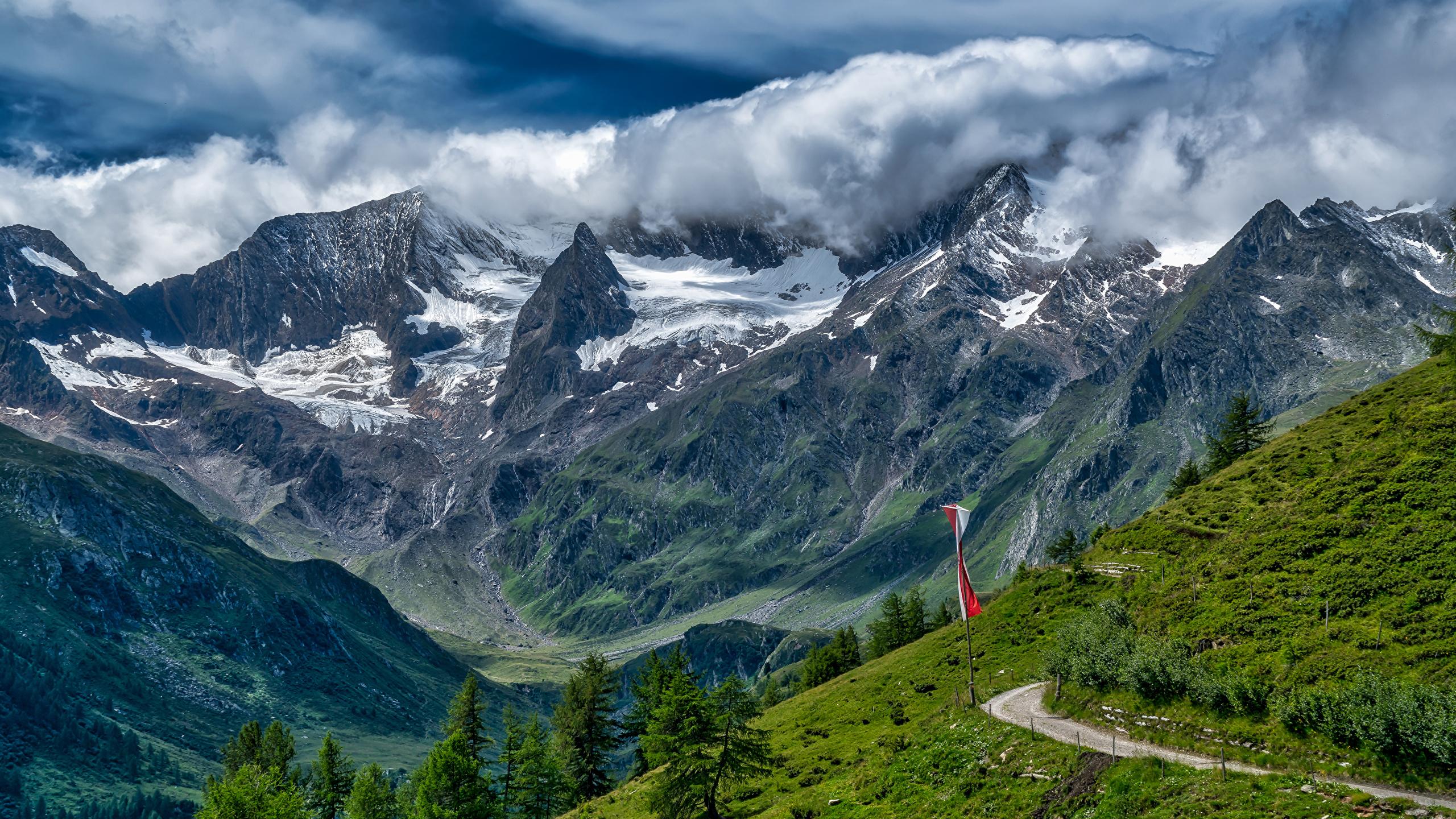 Обои швейцария, гора Нидерхорн, Mount Niederhorn, alps, Switzerland, альпы. Природа foto 10