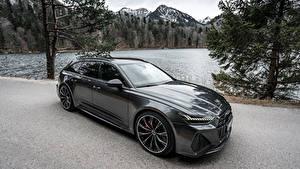 Фотографии Ауди Черная Металлик Универсал 2020 Audi RS 6 Avant