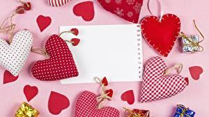 Фотографии День всех влюблённых Шаблон поздравительной открытки Сердце