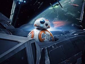 Фотографии Звёздные войны: Последние джедаи Робот BB8