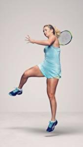 Обои Теннис Ног American WTA CoCo Vandeweghe спортивные Девушки