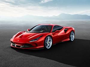 Фотография Феррари Красный F8 Tributo автомобиль