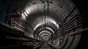 Фотография Метро Туннель Рельсы