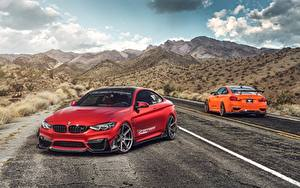 Фото BMW Красный M4 Авто