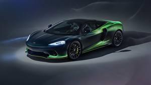 Фотография McLaren Зеленый Металлик Фар MSO, 2020, GT, Verdant Theme Автомобили