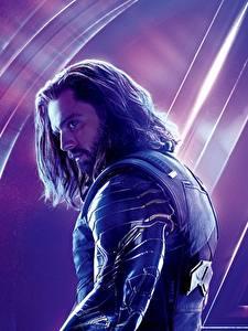 Обои Мстители: Война бесконечности Мужчины Sebastian Stan Кино Знаменитости