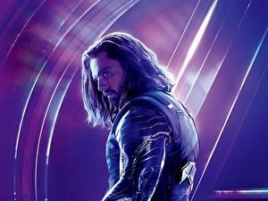 Обои Мстители: Война бесконечности Мужчины Sebastian Stan Знаменитости