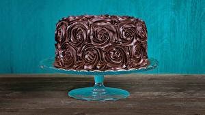 Картинка Сладости Торты Шоколад Дизайн
