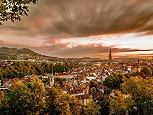 Фото Здания Берн Швейцария Города