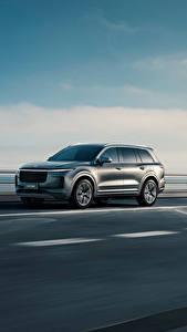 Обои для рабочего стола Дороги CUV Едущий Китайские Lixiang ONE, 2020 автомобиль