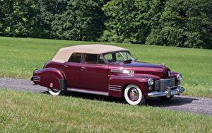 Фото Кадиллак Винтаж Бордовый Металлик 1941 Sixty-Two Convertible Sedan Deluxe Авто