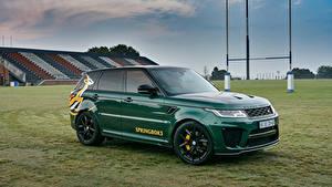 Картинка Range Rover Стайлинг Зеленая Металлик 2019 Sport SVR Springboks by SVO авто